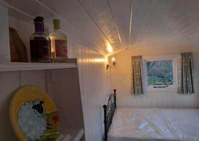 Shepherds Hut Bedroom